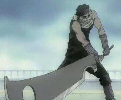 Momochi Zabuza-sword