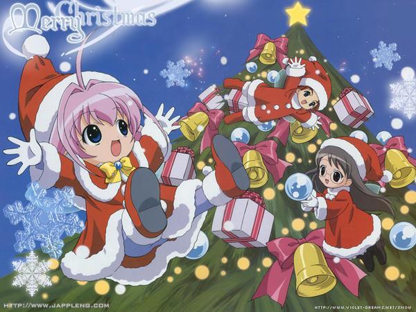 Shino wünscht Frohe Weihnachten | Anime-Otakus